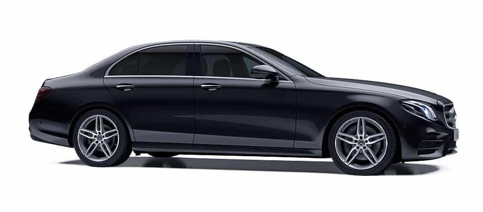 Black Mercedes-Benz V-Class V220d Business Class Saloon DM Executive Line Chauffeur Car Service Ireland